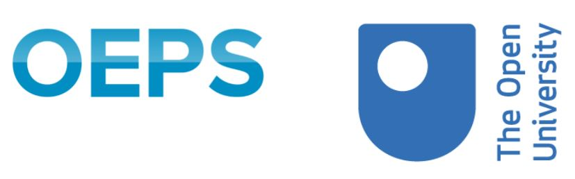 Opening Educational Practices in Scotland logo and The Open University logo