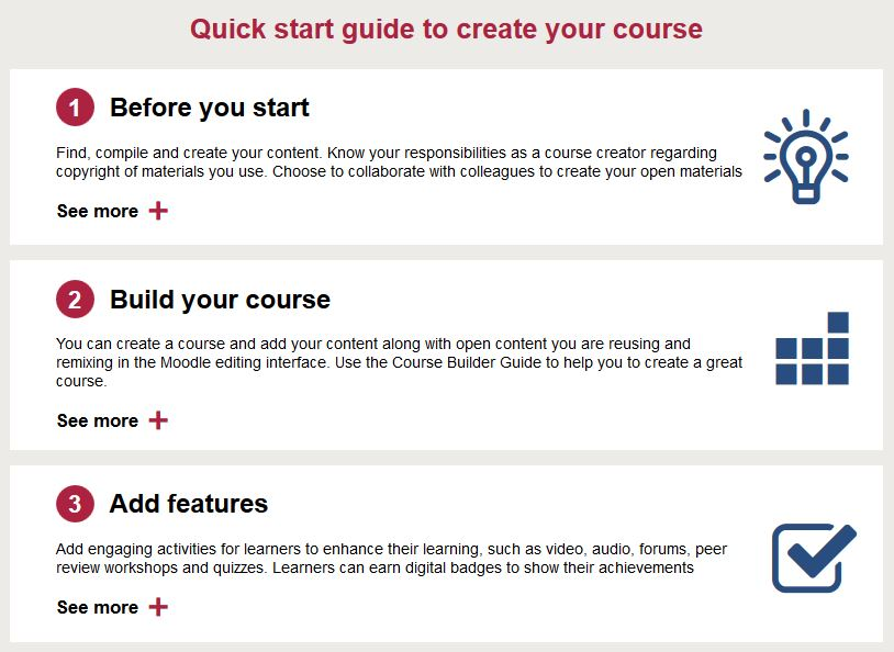 How to use OpenLearn Create