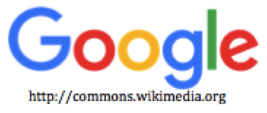 A picture of the Google logo in colour