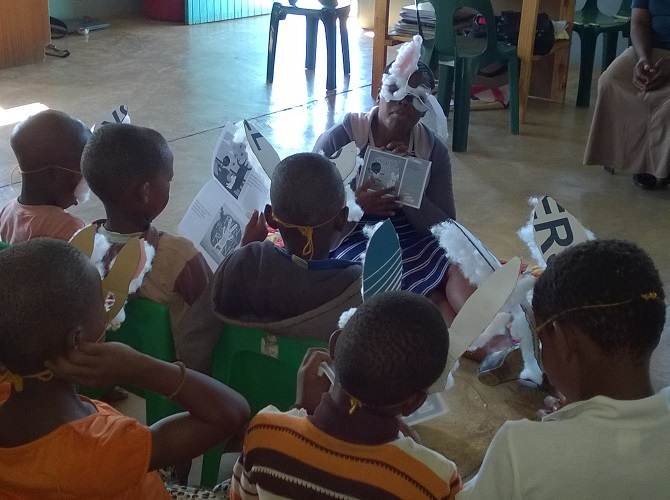 TESSA: Teaching early reading in Africa – with African Storybook