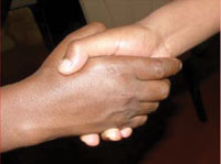 Contaminated hands can easily transmit infectious agents