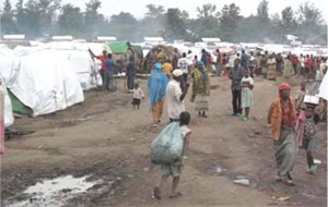 Cholera can spread quickly and cause epidemics in refugee camps