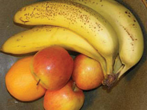 Many fruits are protected against spoilage by microorganisms