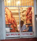 Meat in butcher's shop