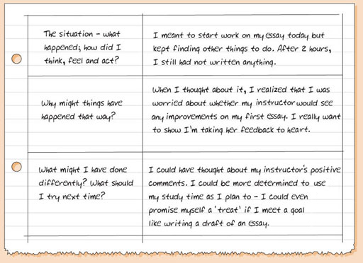 Figure 1.5 Sample of Learning Journal entries