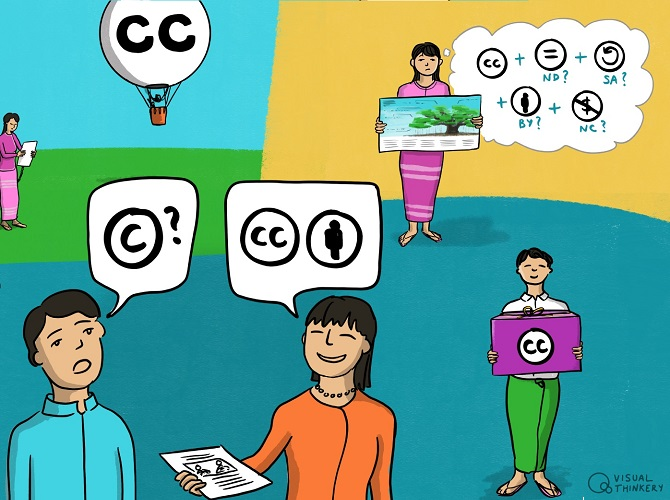 Copyright and open licensing in Myanmar