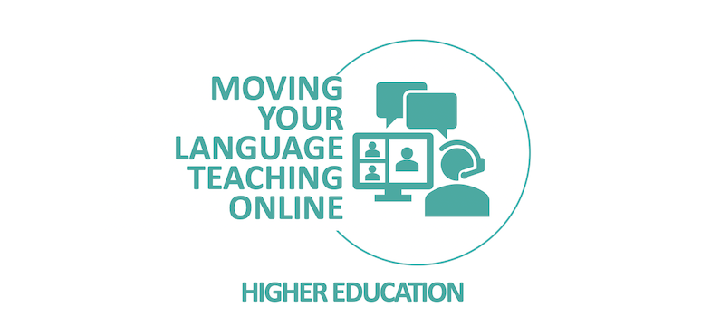 Moving your language teaching online - a toolkit