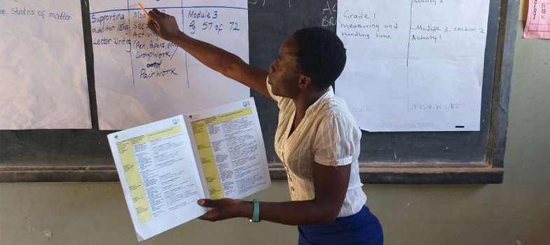 Active teaching and learning for Africa (4): Managing and supporting learner-centred classrooms