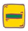 Yellow box with green minus sign