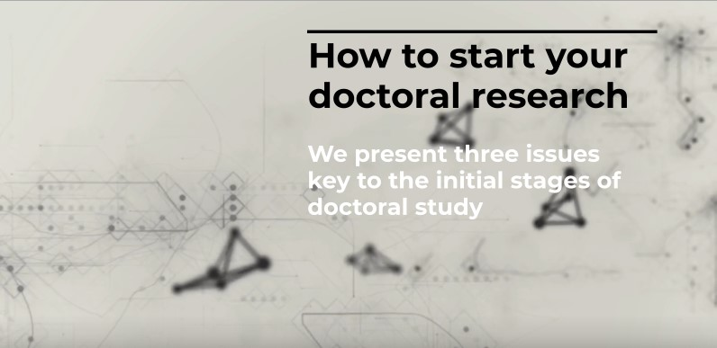 How to start your doctoral research