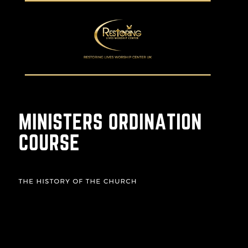 Restoring Worship Centre_Ministers Ordination Course