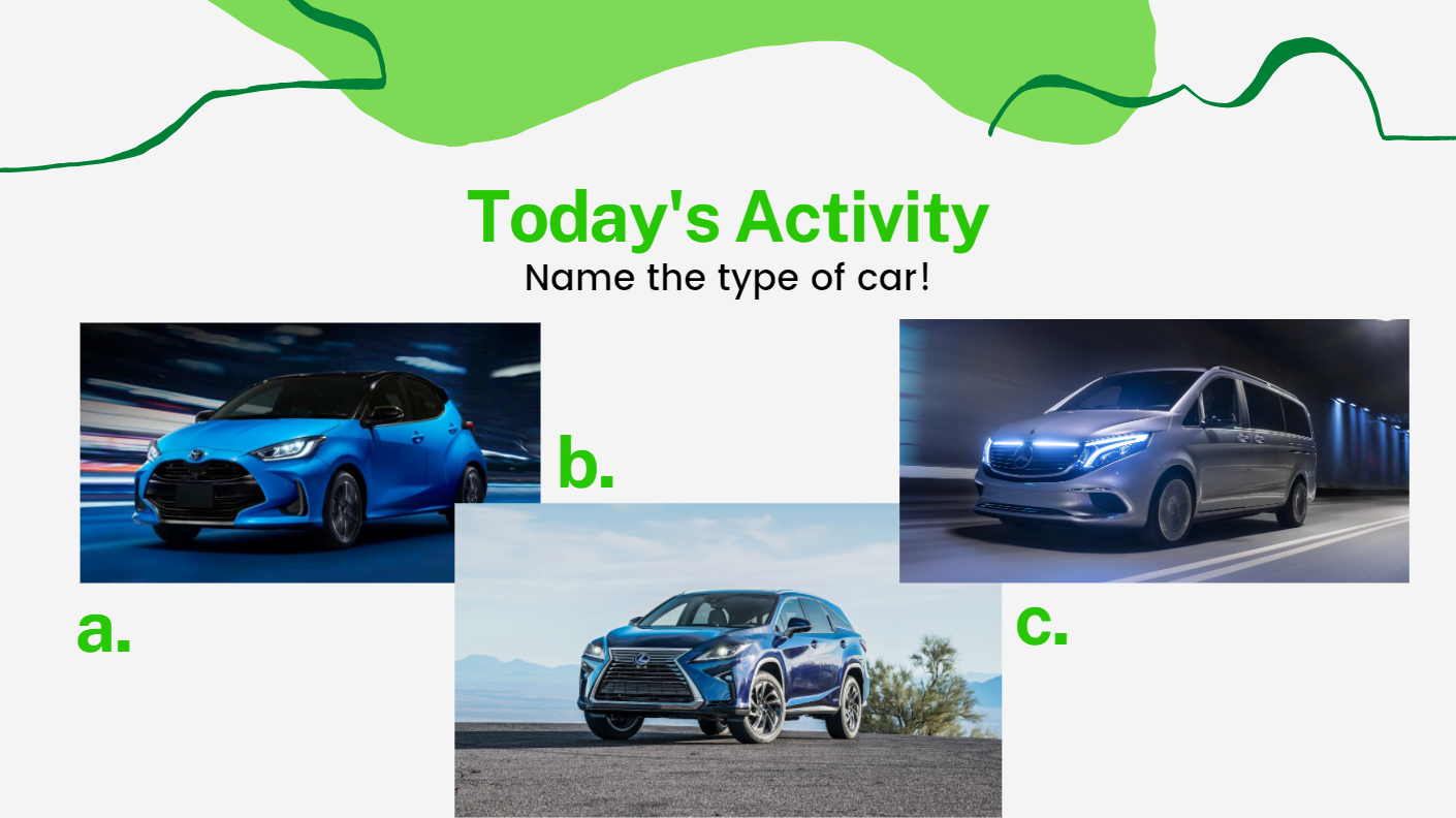 Name the type of car!