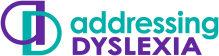 Addressing Dyslexia logo
