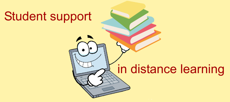 Student support in distance learning